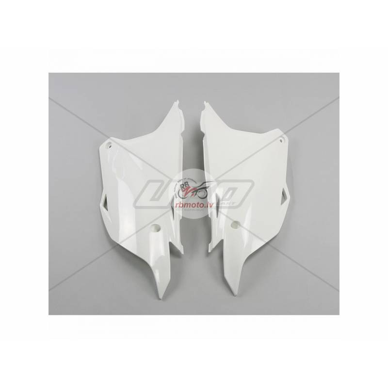 UFO Side Panels White Kawasaki KX85