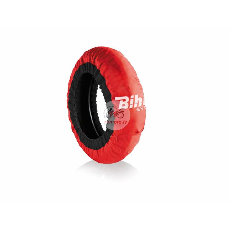 BIHR Home Track EVO2 Autoregulated Tire Warmer Red...