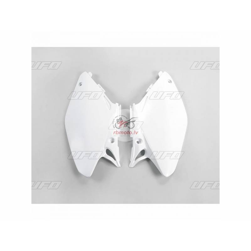 UFO Side Panels White Honda CR125R/250R