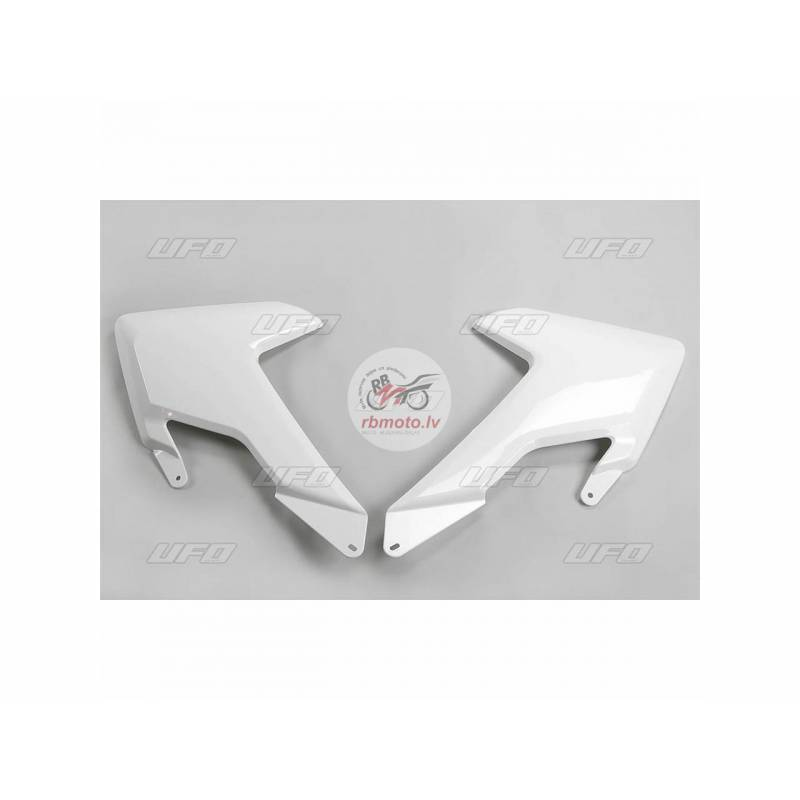 UFO Radiator Covers White Husqvarna FC