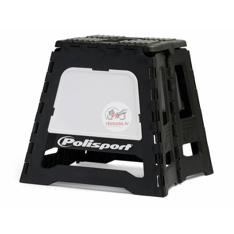 POLISPORT Foldable Bike Stand Black/White