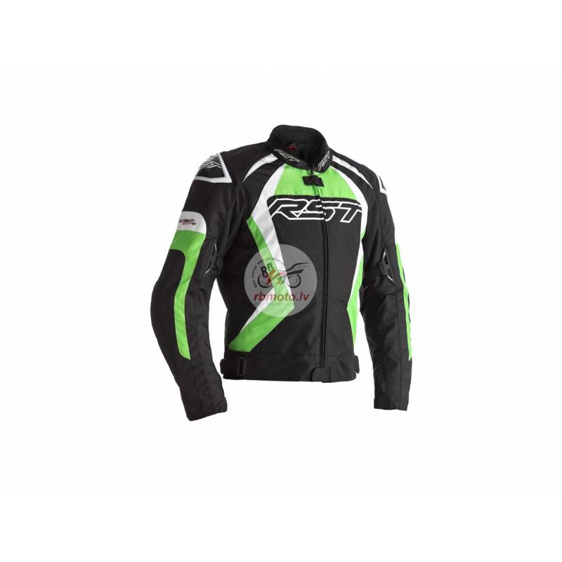 RST Tractech EVO 4 CE Jacket Textile Green Size XL...