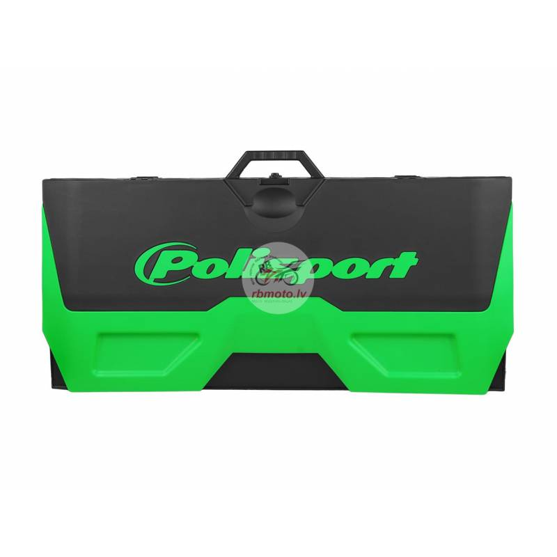 POLISPORT green/black Foldable Bike Mat