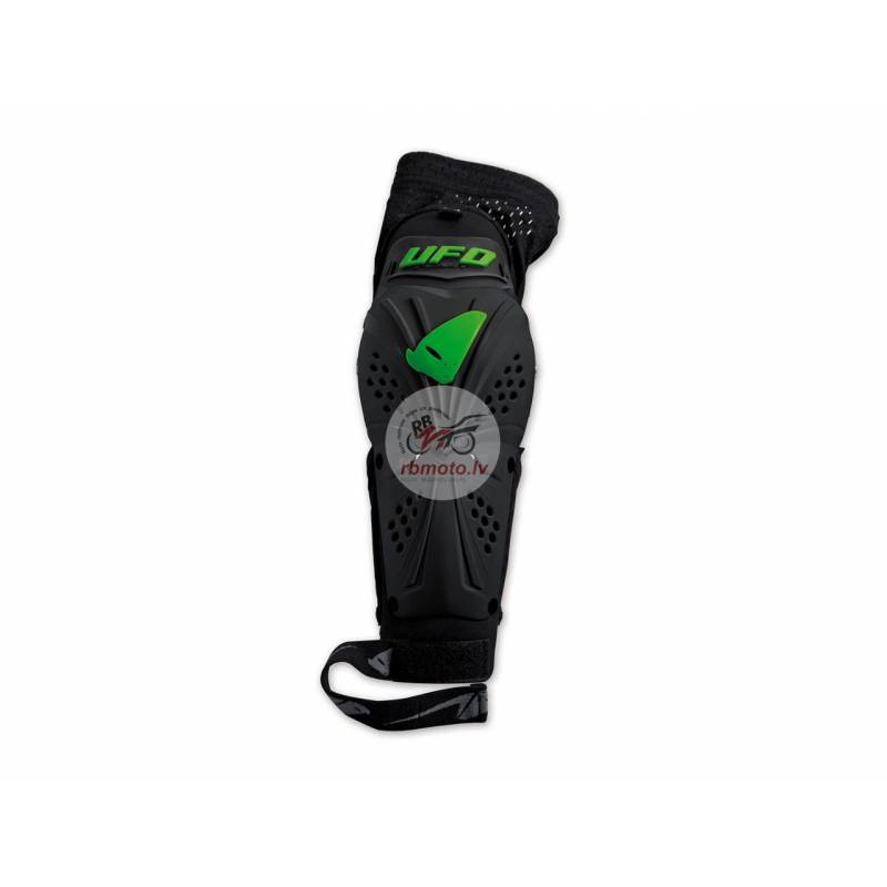 UFO Professional EVO Elbow Guards Black/Green Size...