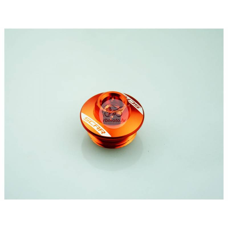 SCAR Oil Pan Cap Orange