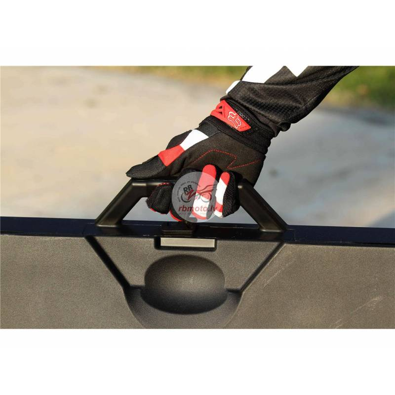 POLISPORT black Foldable Bike Mat