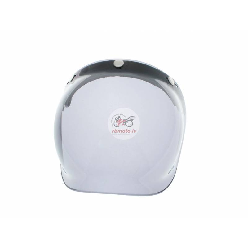 V PARTS Bubble smoked universal helmet shield with...