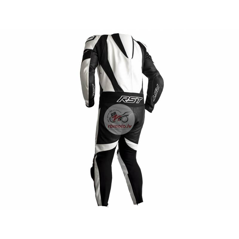 RST Tractech EVO 4 CE Race Suit Leather White Size...