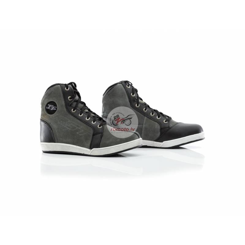 RST IOM TT Crosby Suede WP CE Boots Grey Size 45