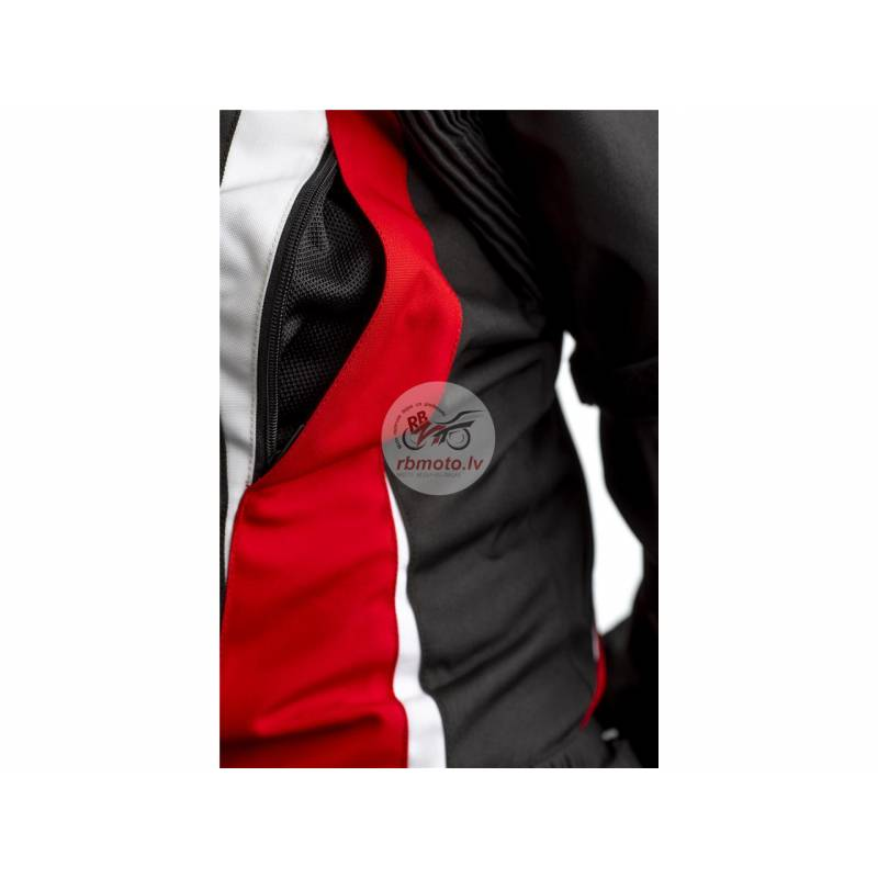 RST Tractech EVO 4 CE Jacket Textile Red Size XL M...