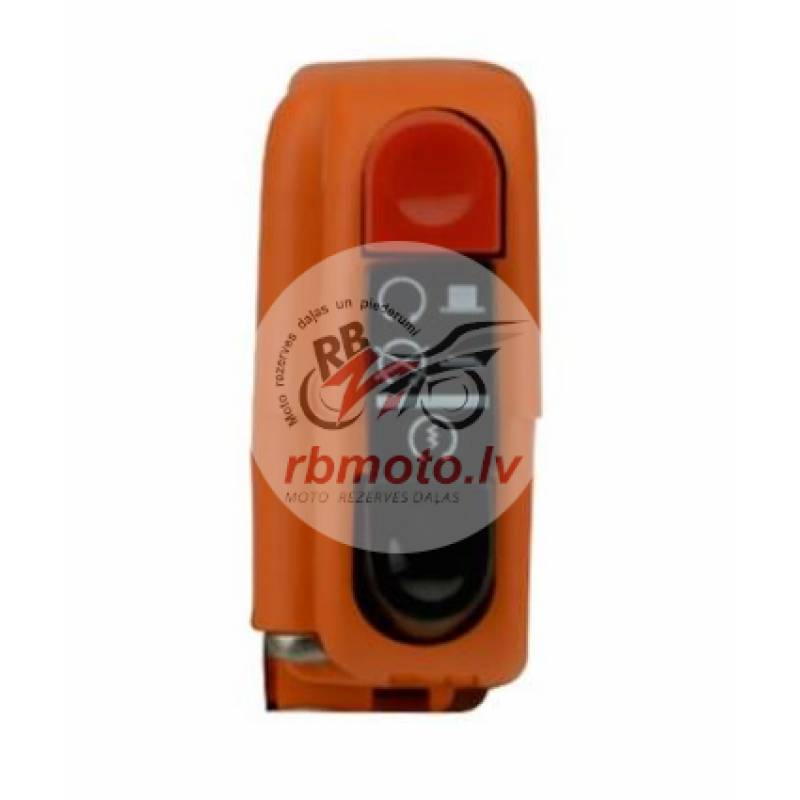 Right-hand Tommaselli orange signal switch with sw...
