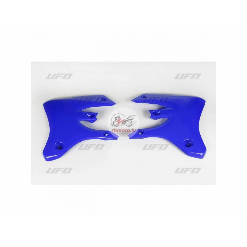 UFO Radiator Covers Reflex Blue Yamaha WR250F/450F