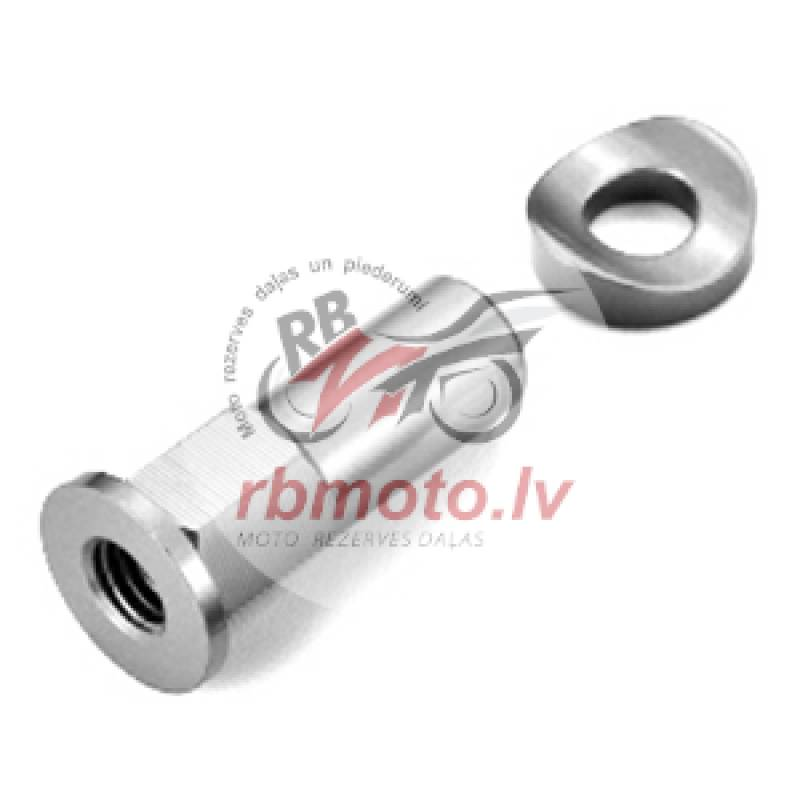ART Long Rim Lock Nut Grey
