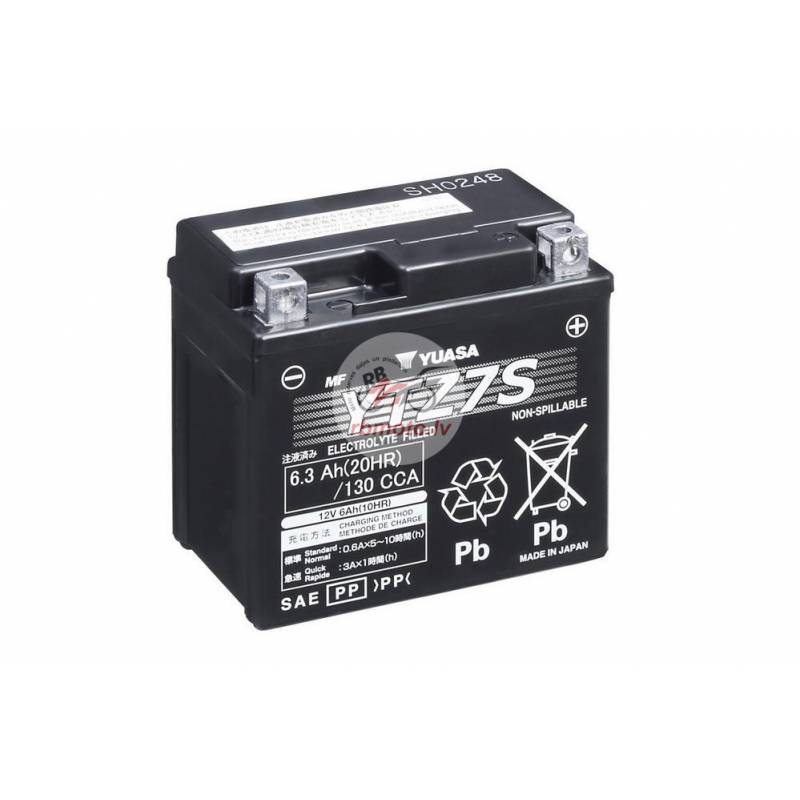 YUASA YTZ7S Battery Maintenance Free Factory Activ...