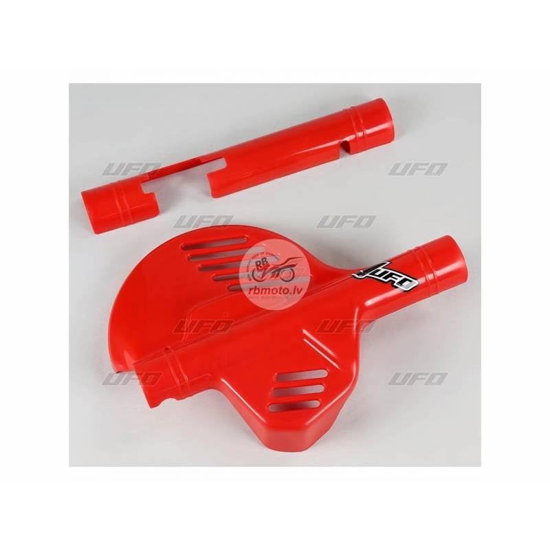 UFO Front Disc Protector Red Honda XR600R