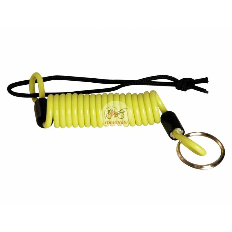 VECTOR Reminder Cable Fluo Yellow for Disc Lock/U-...