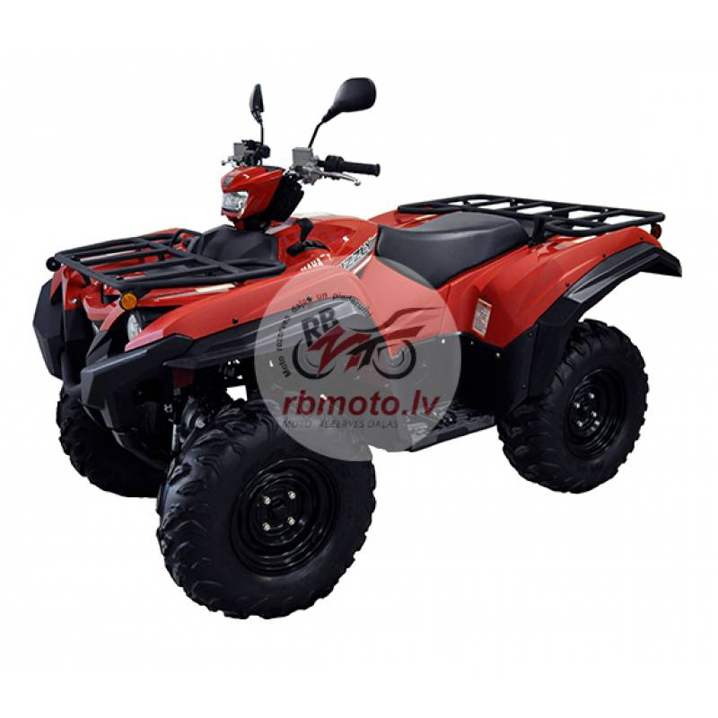 DIRECTION 2 Overfender Kit Black Yamaha Grizzly 20...