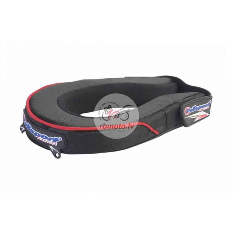 POLISPORT Neck Pad Black Junior Size