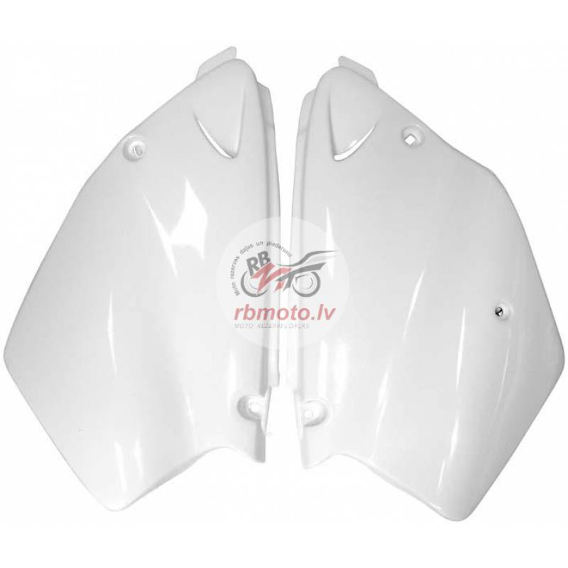 RACETECH Side Panels White Yamaha