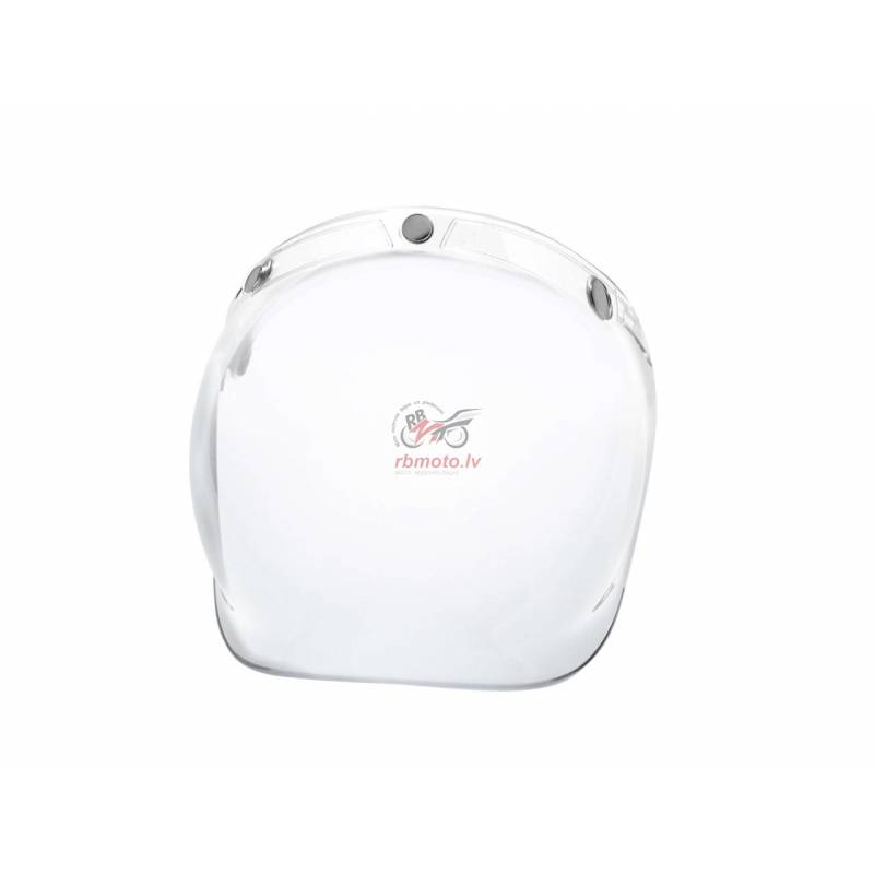 V PARTS Bubble clear universal helmet shield with ...