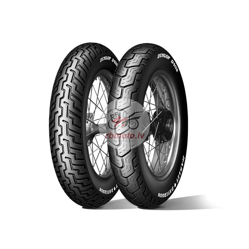 DUNLOP Tyre D402F (HARLEY-D) MH90-21 M/C 54H TL