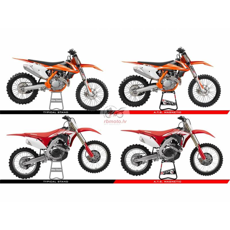 RISK RACING A.T.S Bike Stand Adjustable Top with M...