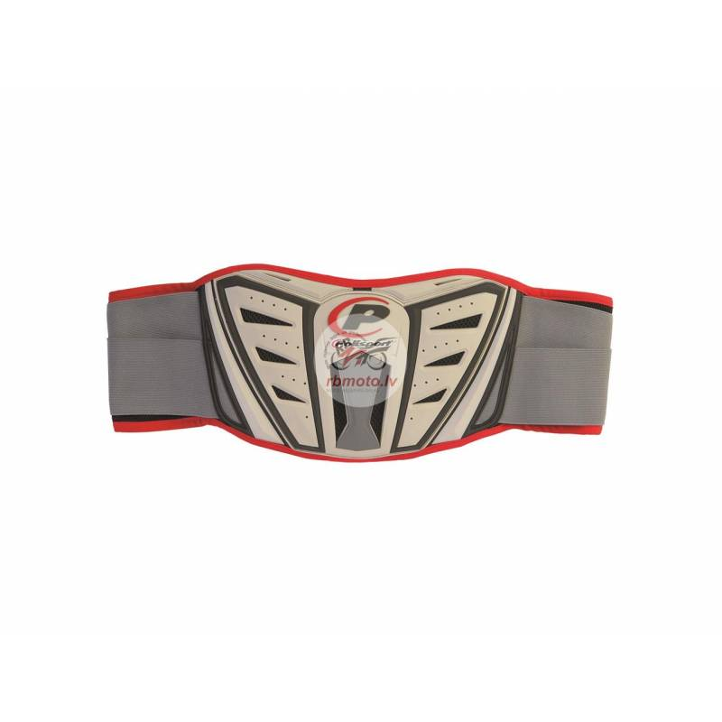 POLISPORT MX Plus Kidney Belt Grey Size S/M