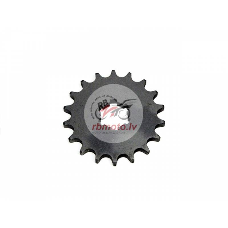 CHAIN SPROCKET T18 FRONT