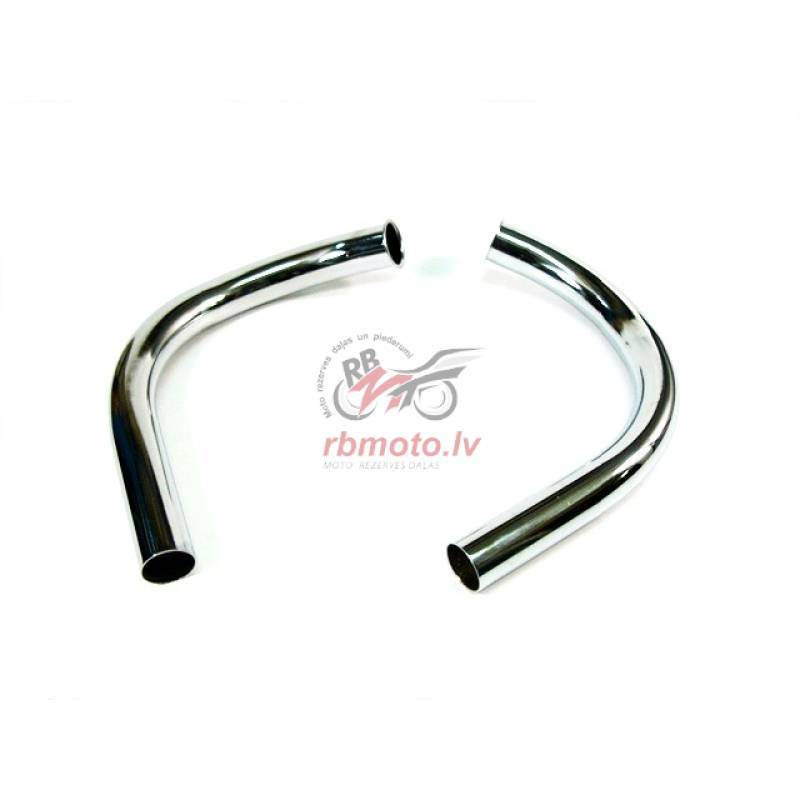 EXHAUST PIPE PAIR 6V 634